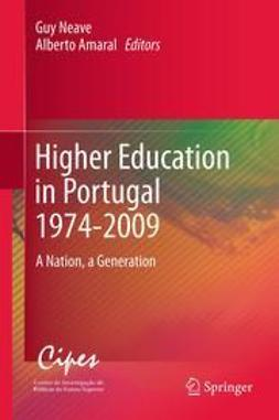 Neave, Guy - Higher Education in Portugal 1974-2009, ebook