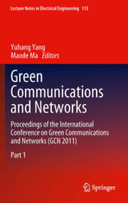 Yang, Yuhang - Green Communications and Networks, e-bok