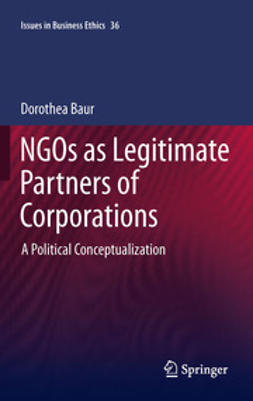 Baur, Dorothea - NGOs as Legitimate Partners of Corporations, ebook