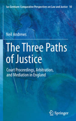 Andrews, Neil - The Three Paths of Justice, ebook