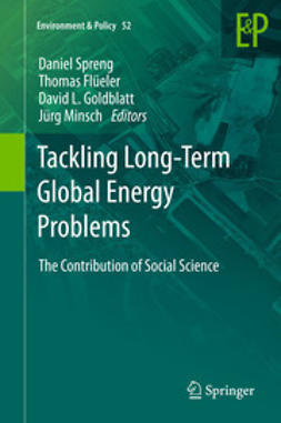 Spreng, Daniel - Tackling Long-Term Global Energy Problems, ebook