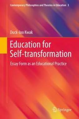 Kwak, Duck-Joo - Education for Self-transformation, ebook