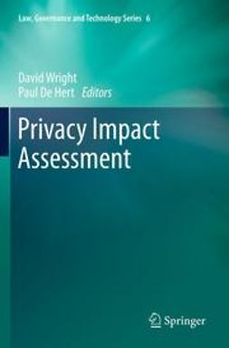 Wright, David - Privacy Impact Assessment, ebook
