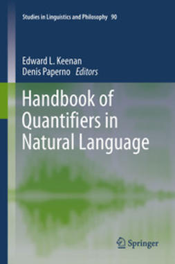 Keenan, Edward L. - Handbook of Quantifiers in Natural Language, e-bok