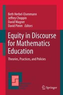 Herbel-Eisenmann, Beth - Equity in Discourse for Mathematics Education, ebook