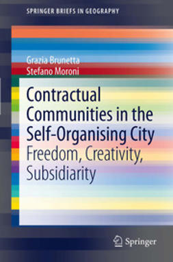 Brunetta, Grazia - Contractual Communities in the Self-Organising City, ebook