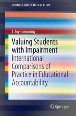 Cumming, J. Joy - Valuing Students with Impairment, e-bok
