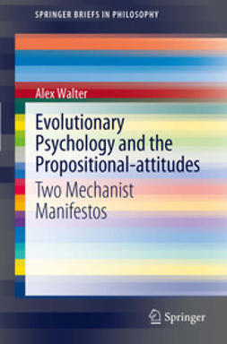 Walter, Alex - Evolutionary Psychology and the Propositional-attitudes, ebook