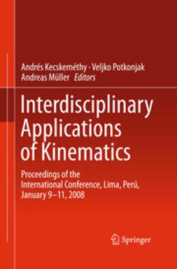 Kecskeméthy, Andrés - Interdisciplinary Applications of Kinematics, ebook