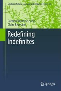 Dobrovie-Sorin, Carmen - Redefining Indefinites, ebook