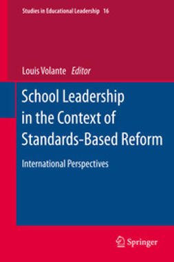 Volante, Louis - School Leadership in the Context of Standards-Based Reform, ebook