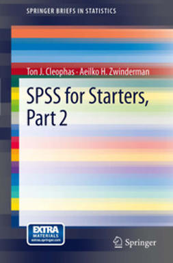 Cleophas, Ton J. - SPSS for Starters, Part 2, ebook