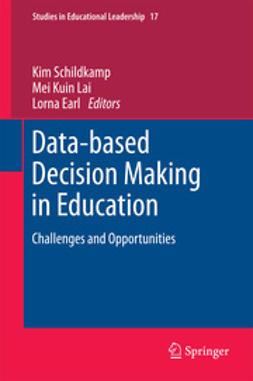 Schildkamp, Kim - Data-based Decision Making in Education, ebook