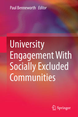 Benneworth, Paul - University Engagement With Socially Excluded Communities, ebook