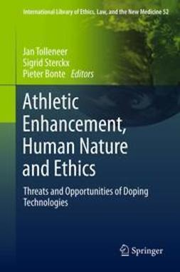 Tolleneer, Jan - AthleticEnhancement, Human Nature and Ethics, ebook