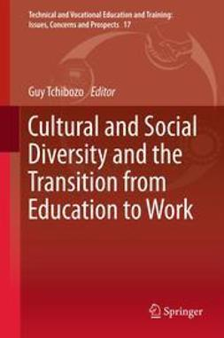 Tchibozo, Guy - Cultural and Social Diversity and the Transition from Education to Work, ebook