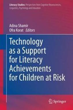 Shamir, Adina - Technology as a Support for Literacy Achievements for Children at Risk, e-bok