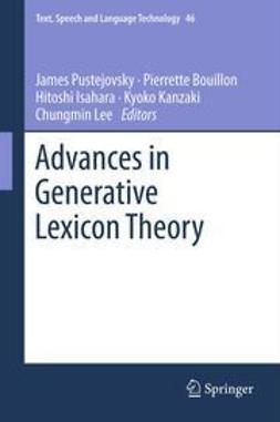 Pustejovsky, James - Advances in Generative Lexicon Theory, ebook