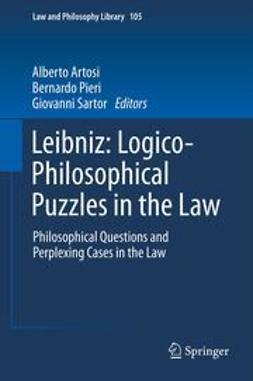 Artosi, Alberto - Leibniz: Logico-Philosophical Puzzles in the Law, ebook