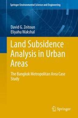 Zeitoun, David G. - Land Subsidence Analysis in Urban Areas, ebook