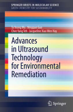 Wu, Ta Yeong - Advances in Ultrasound Technology for Environmental Remediation, ebook