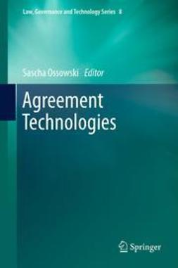 Ossowski, Sascha - Agreement Technologies, ebook