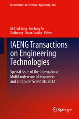 Yang, Gi-Chul - IAENG Transactions on Engineering Technologies, ebook