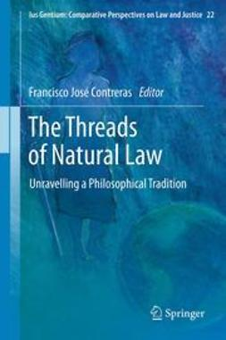 Contreras, Francisco José - The Threads of Natural Law, ebook