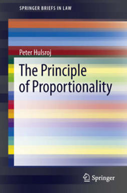 hulsroj, peter - The Principle of Proportionality, ebook