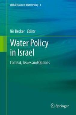 Becker, Nir - Water Policy in Israel, ebook