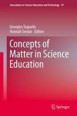 Tsaparlis, Georgios - Concepts of Matter in Science Education, ebook