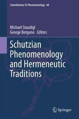 Staudigl, Michael - Schutzian Phenomenology and Hermeneutic Traditions, e-kirja