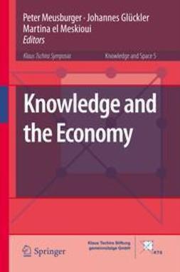 Meusburger, Peter - Knowledge and the Economy, e-kirja