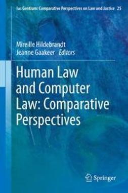 Hildebrandt, Mireille - Human Law and Computer Law: Comparative Perspectives, ebook