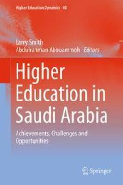 Smith, Larry - Higher Education in Saudi Arabia, e-kirja