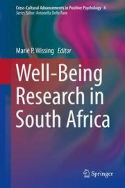 Wissing, Marié P. - Well-Being Research in South Africa, ebook