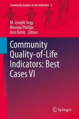 Sirgy, M. Joseph - Community Quality-of-Life Indicators: Best Cases VI, ebook