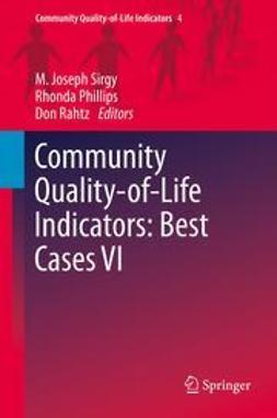 Sirgy, M. Joseph - Community Quality-of-Life Indicators: Best Cases VI, e-bok