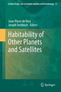 Vera, Jean-Pierre de - Habitability of Other Planets and Satellites, ebook