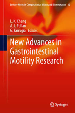 Cheng, L. K. - New Advances in Gastrointestinal Motility Research, ebook