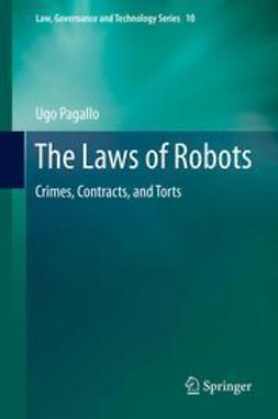 Pagallo, Ugo - The Laws of Robots, ebook
