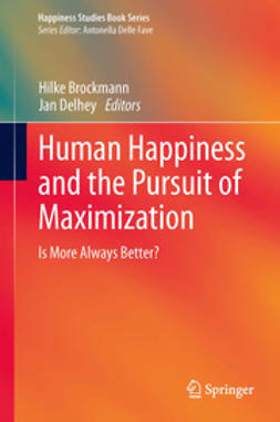 Brockmann, Hilke - Human Happiness and the Pursuit of Maximization, ebook