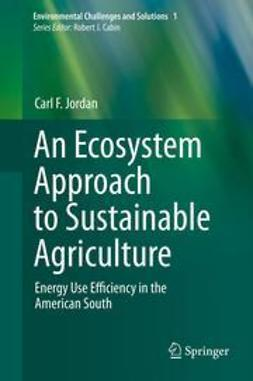 Jordan, Carl F. - An Ecosystem Approach to Sustainable Agriculture, ebook