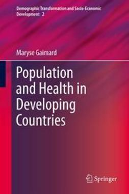 Gaimard, Maryse - Population and Health in Developing Countries, ebook