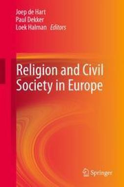 Hart, Joep de - Religion and Civil Society in Europe, e-kirja