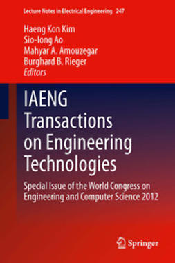 Kim, Haeng Kon - IAENG Transactions on Engineering Technologies, ebook