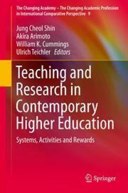Shin, Jung Cheol - Teaching and Research in Contemporary Higher Education, ebook