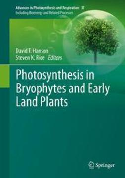 Hanson, David T. - Photosynthesis in Bryophytes and Early Land Plants, ebook