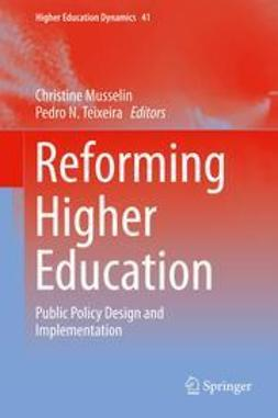 Musselin, Christine - Reforming Higher Education, ebook