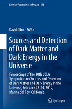 Cline, David - Sources and Detection of Dark Matter and Dark Energy in the Universe, ebook